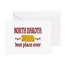 North Dakota Best Greeting Card
