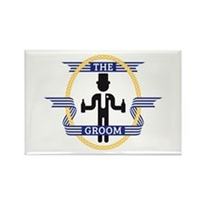 The Groom (3C) Rectangle Magnet