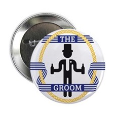 """The Groom (3C) 2.25"""" Button"""