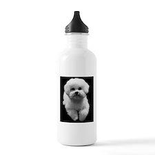 Beau the Beautiful Bichon Sports Water Bottle