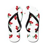 Vintage Cherries Flip Flops