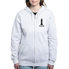 Chess King Zip Hoodie