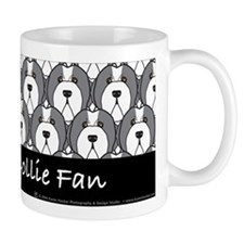 Bearded Collie Fan Mug
