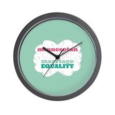 Minnesotan for Equality Wall Clock