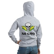 NO GMO Zip Hoody (Back Only)