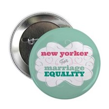 "New Yorker for Equality 2.25"" Button (10 pack)"