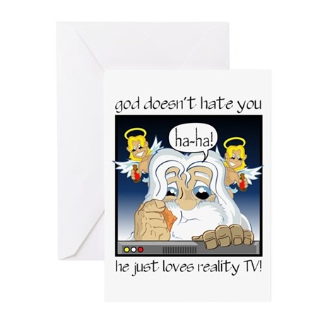 God Doesn't Hate You Greeting Cards (Pk of 10)