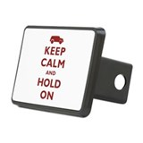 FJCruiser Keep Calm and Hold On Rectangular Hitch