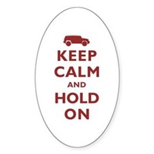 FJCruiser Keep Calm and Hold On Decal