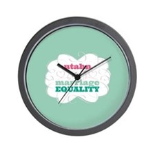 Utahn for Equality Wall Clock
