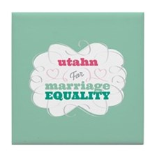 Utahn for Equality Tile Coaster