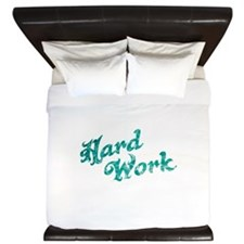 hard work King Duvet