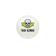 NO GMO Mini Button (100 pack)