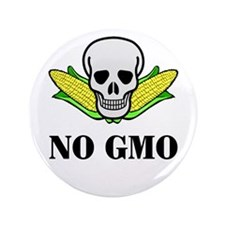 "NO GMO 3.5"" Button (100 pack)"