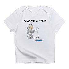 Custom Ice Fishing Cartoon Infant T-Shirt