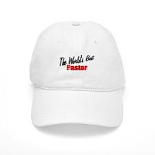 """""""The World's Best Pastor"""" Baseball Cap"""