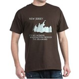 New Jersey Pride Black T-Shirt
