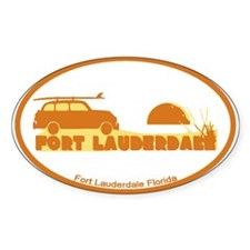 Fort Lauderdale - Beach Design. Decal