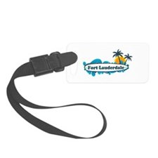 Fort Lauderdale - Surf Design. Luggage Tag