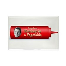 Reagan Ketchup is a vegetable Refrigerator Magnet