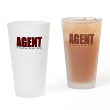 Agent of Change Drinking Glass