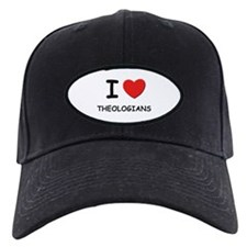 I Love theologians Baseball Hat