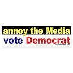 Annoy the Media Bumper Sticker