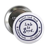 "Lab is good. #2 2.25"" Button"