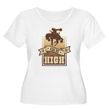 Ride Me High Plus Size T-Shirt