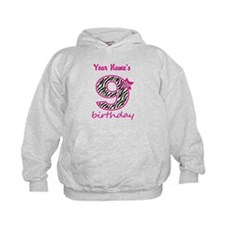 9th Birthday - Personalized Hoodie