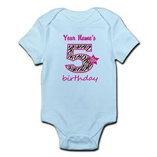 5th Birthday - Personalized Body Suit