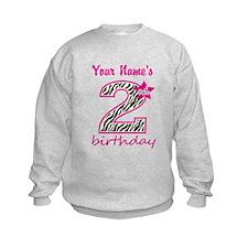 2nd Birthday - Personalized Sweatshirt