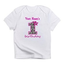1st Birthday - Personalized Infant T-Shirt