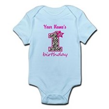1st Birthday - Personalized Body Suit
