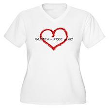 Gluten + Free = ME! Plus Size T-Shirt