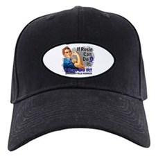 If Rosie Can Do It Syringomyelia Baseball Hat