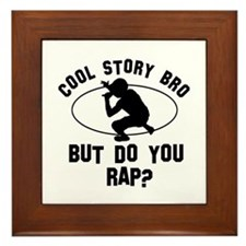 Rap designs Framed Tile