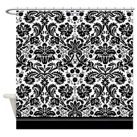 Black And White Damask Curtains Clearance Black Brown and Beige Shower