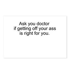 Ask your doctor if... Postcards (Package of 8)