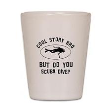 Scuba Dive designs Shot Glass