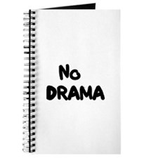 """No Drama"" Journal"