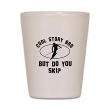 Ski designs Shot Glass