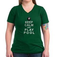 Keep Calm and Play Pool Shirt