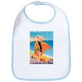 Plage de Calvi Retro Travel P Bib