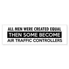 Air Traffic Controllers Designs Bumper Sticker