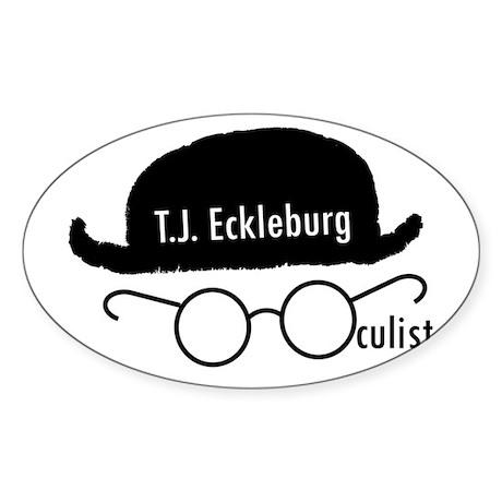T.J. Eckleburg Sticker
