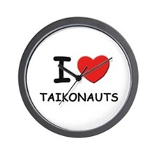 I love taikonauts Wall Clock