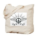 Peace with Wings Tote Bag
