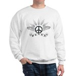 Peace with Wing Sweatshirt