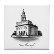 Nauvoo, Illinois Temple Tile Coaster